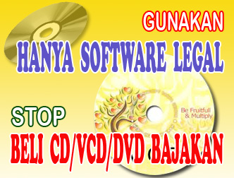 Gunakan Software Legal